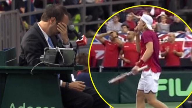 Nagyon  ritkán látni ilyet tenisz pályán! :D :D
